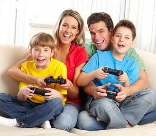 rodzinne granie w gry